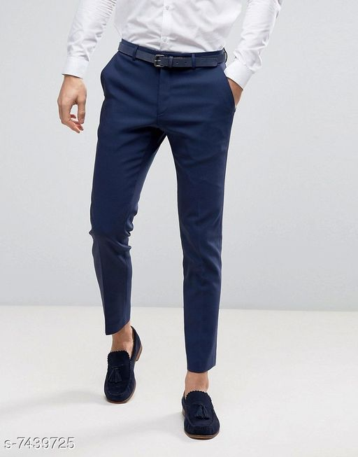 Trousers Beautiful Men's Trousers Fabric: Cotton Pattern: Solid Multipack: 1 Sizes:  34 (Waist Size: 34 in Length Size: 40 in)  36 (Waist Size: 36 in Length Size: 40 in)  30 (Waist Size: 30 in Length Size: 40 in)  32 (Waist Size: 32 in Length Size: 40 in) 28 (Waist Size: 28 in Length Size: 40 in) 26 (Waist Size: 26 in Length Size: 40 in) Country of Origin: India Sizes Available: 26, 28, 30, 32, 34, 36 *Proof of Safe Delivery! Click to know on Safety Standards of Delivery Partners- https://ltl.sh/y_nZrAV3  Catalog Rating: ★4 (482)  Catalog Name: Stylish Latest Men Trousers CatalogID_1195926 C69-SC1212 Code: 194-7439725-