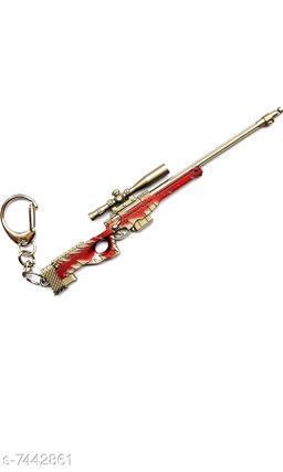 Advikavya Metal PUBG Gun Keychain Sniper Weapon (Assorted Skin Color) (Size 11 cm) ([DSR])