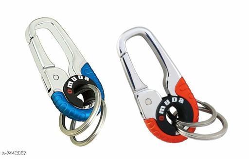 Advikavya Metal Bike and Car Keychain (Assorted Colour)