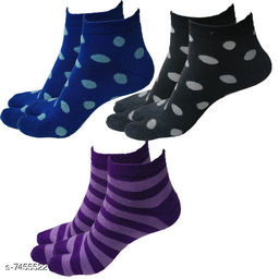 Women Woolen SocksPack of 3 PairsWinter
