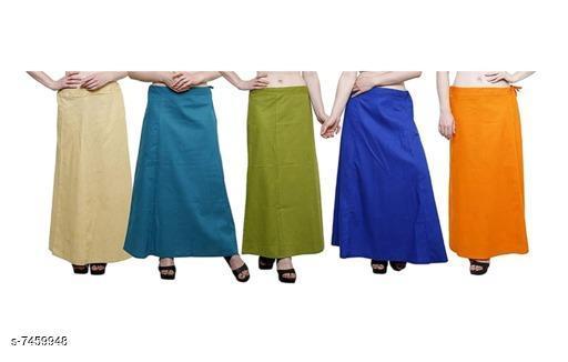 Beautiful Solid Women's Petticoats