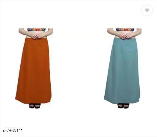 Ethnic Bottomwear - Petticoats Trendy Cotton Women's Petticoat  *Fabric* Cotton  *Multipack* 2  *Sizes*  Free Size  *Sizes Available* Free Size *    Catalog Name: Stylus Women Petticoats CatalogID_1200099 C74-SC1019 Code: 652-7460141-