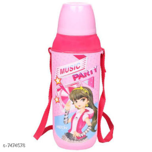 Kids Bottle & Bottle Covers Stylish Water Bottle  *Material* Plastic  *Pack* Pack of 1  *Size (in ltrs)* 650 ml  *Size* Free Size  *Sizes Available* Free Size *    Catalog Name: Stylish Water Bottle CatalogID_1203132 C138-SC1672 Code: 872-7474578-