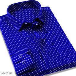 fashlook royal dotted shirt for men