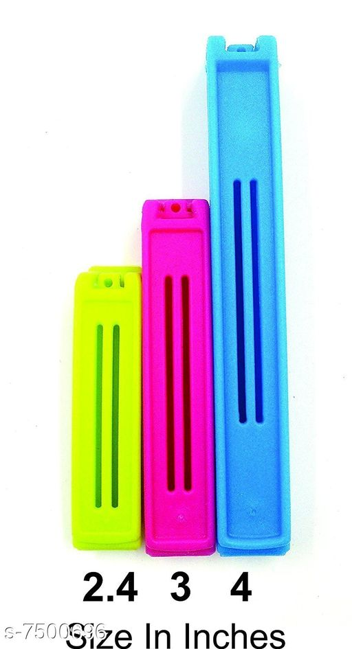 Bag Sealing Clips With 3 Different sizes(Pack of 72)