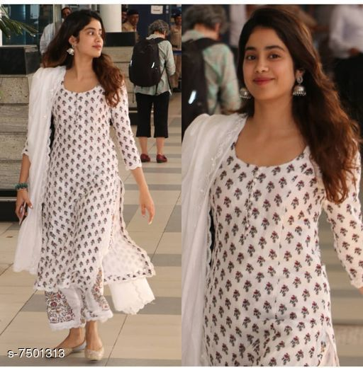Rayonkurti with Heavy Dupatta and pant