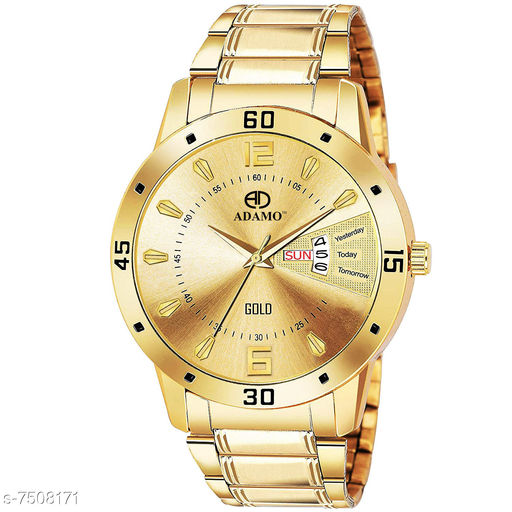Men Watch Day and Date