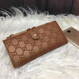 Fancy Wallet With Mobile Pocket For Women