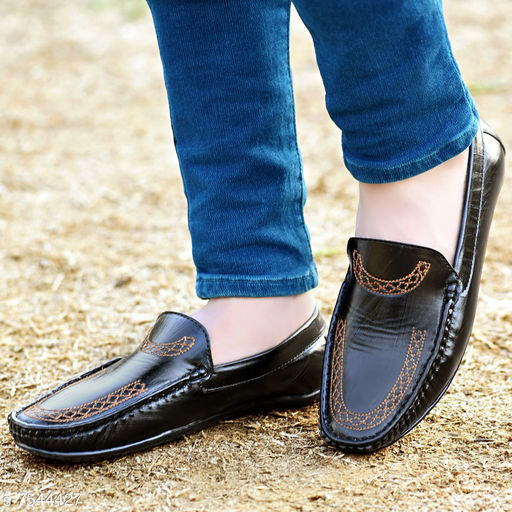 Trendy Embroidery Loafers