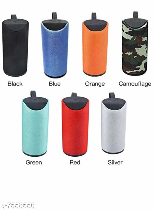 TG113 Super Bass Splash Proof Wireless Bluetooth Speaker Best Sound Quality Playing with All Device(ASSORTED COLOR )