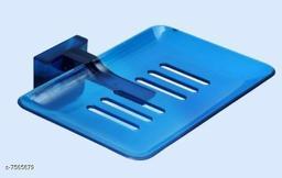 Unbrekable Fancy (Blue) soap Dish Single  (Pack of 3 )