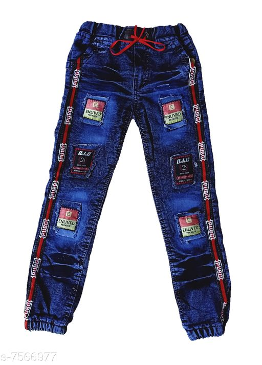 Jeans Kids New Stylish Look Jeans  *Fabric* Denim  *Multipack* Single  *Sizes*  6-12 Months  *Sizes Available* 6-12 Months *   Catalog Rating: ★4 (4)  Catalog Name: Pretty Funky Boys Jeans & Jeggings CatalogID_1223061 C59-SC1180 Code: 492-7566977-
