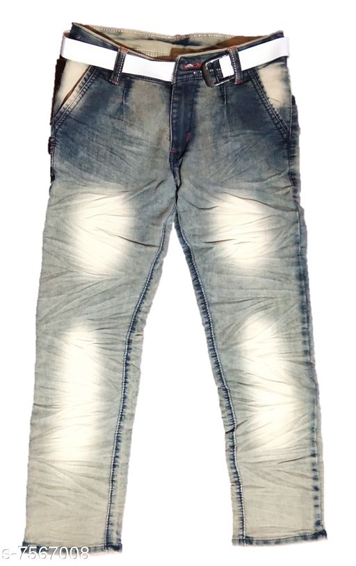 Jeans Kids New Stylish Look Jeans  *Fabric* Denim  *Multipack* Single  *Sizes*  7-8 Years  *Sizes Available* 7-8 Years *   Catalog Rating: ★4 (4)  Catalog Name: Pretty Funky Boys Jeans & Jeggings CatalogID_1223061 C59-SC1180 Code: 073-7567008-