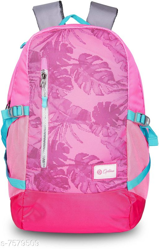 Optima Walk on the wild side high rise series 29.5 L Backpack Pink
