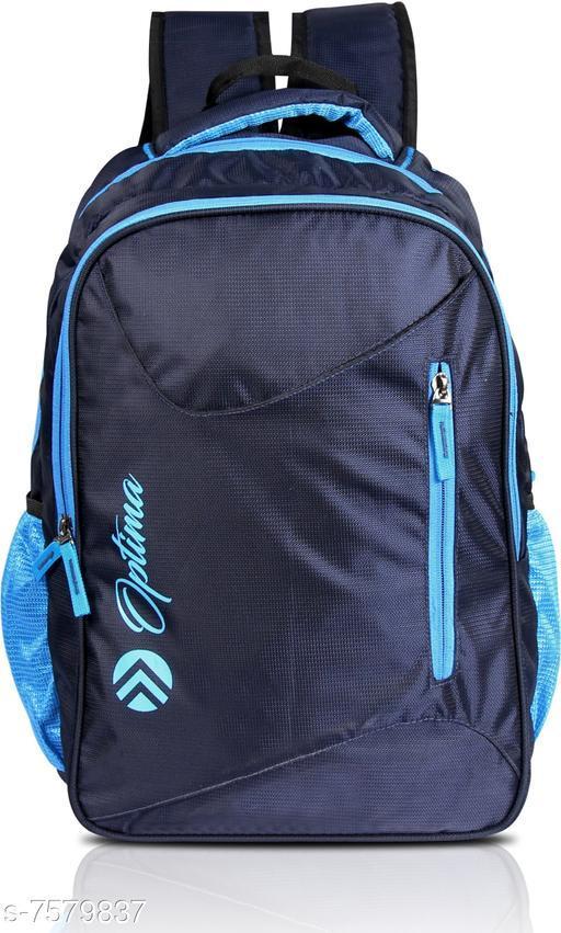Optima Multi Zipper 29 L Laptop Backpack Blue