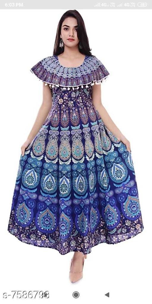 Women's Printed Multicolor Rayon Dress