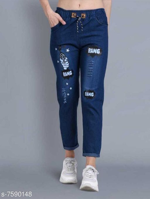 Denim Surface Styling Jeans