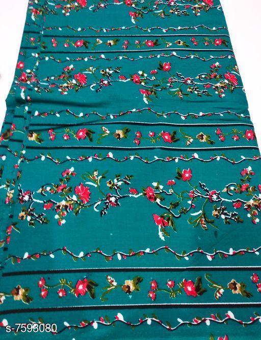 Kurti Fabric Printed Kurti Fabric  *Fabric* Cotton Unstitched kurti fabric of 2.5mtrs  *Sizes*   *Un Stitched (Length Size* 2.5 m)  *Sizes Available* Un Stitched *    Catalog Name: Alisha Sensational Kurti Fabrics CatalogID_1228747 Code: 892-7593080-