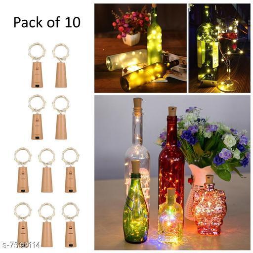 Cork Led String Warm Lights (Pack of 10)