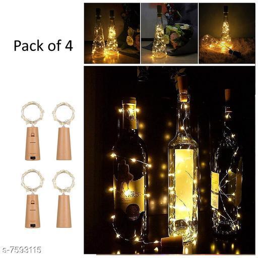 Cork Led String Warm Lights (Pack of 4)
