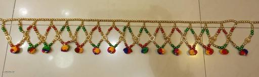 Toran & Wall Hangings TORAN AND HANGINGS  *Material* Handicraft  *Pack* Pack of 1  *Sizes Available* Free Size *    Catalog Name: Fancy Festive Toran CatalogID_1229179 C128-SC1318 Code: 622-7595015-