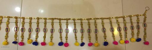 Toran & Wall Hangings TORAN AND HANGINGS  *Material* Handicraft  *Pack* Pack of 1  *Sizes Available* Free Size *    Catalog Name: Fancy Festive Toran CatalogID_1229179 C128-SC1318 Code: 532-7595018-