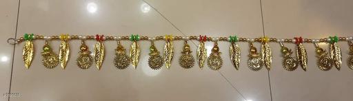 Toran & Wall Hangings TORAN AND HANGINGS  *Material* Handicraft  *Pack* Pack of 1  *Sizes Available* Free Size *    Catalog Name: Essential Festive Toran CatalogID_1229189 C128-SC1318 Code: 642-7595070-