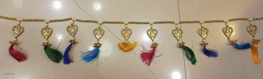 Toran & Wall Hangings TORAN AND HANGINGS  *Material* Handicraft  *Pack* Pack of 1  *Sizes Available* Free Size *    Catalog Name: Fancy Festive Toran CatalogID_1229210 C128-SC1318 Code: 691-7595164-
