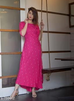 Fashionable Rayon Kurti