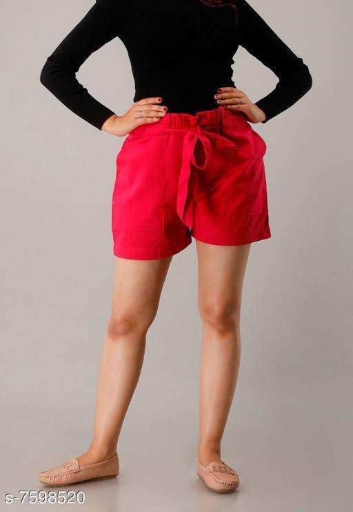 Shorts CUEGAL Womens Cotton Flex Solid Half Pant Gym Shorts, Night Shorts, Basic Shorts, Regular Shorts, Running Shorts, Sports Shorts, Hotpants, Cycling Shorts(Pink)  *Fabric* Cotton Blend  *Pattern* Solid  *Multipack* 1  *Sizes*   *Free Size (Waist Size* 32 in, Length Size  *Sizes Available* Free Size *   Catalog Rating: ★3.3 (26)  Catalog Name: Designer Fabulous Women Shorts CatalogID_1229930 C79-SC1038 Code: 952-7598520-9951