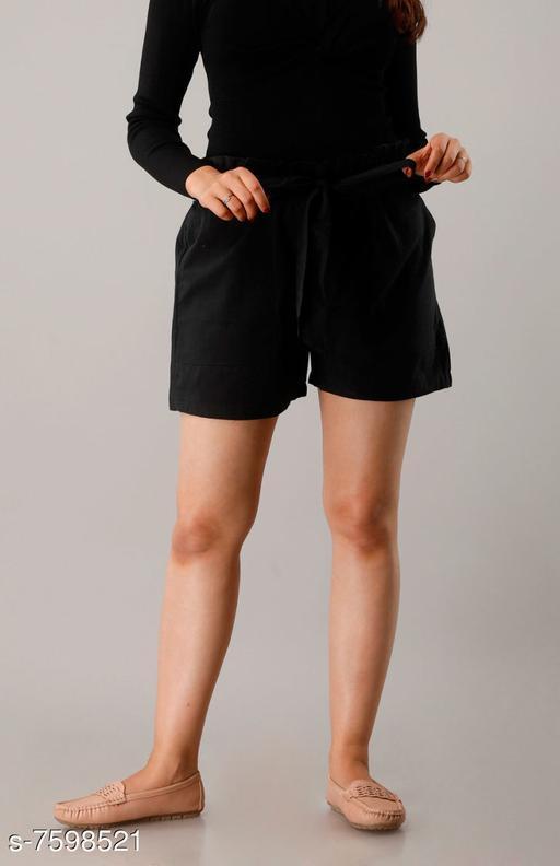 Shorts CUEGAL Womens Cotton Flex Solid Half Pant Gym Shorts, Night Shorts, Basic Shorts, Regular Shorts, Running Shorts, Sports Shorts, Hotpants, Cycling Shorts(Black)  *Fabric* Cotton Blend  *Pattern* Solid  *Multipack* 1  *Sizes*   *Free Size (Waist Size* 32 in, Length Size  *Sizes Available* Free Size *   Catalog Rating: ★3.4 (25)  Catalog Name: Designer Fabulous Women Shorts CatalogID_1229930 C79-SC1038 Code: 952-7598521-9951