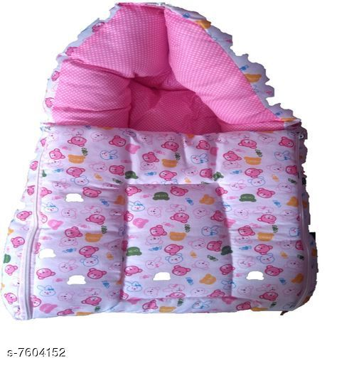 Baby Sleeping Bag Stylish Baby Bedding Set / Sleeping Bag  *Product Name* Stylish Baby Bedding Set / Sleeping Bags  *Material* Cotton  *Type* Baby Bedding Set Age Group - 0-6 Months  *Multipack* Pack of 1  *Sizes*   *Free Size( Lenght Size* 22 in, Width Size  *Sizes Available* Free Size *    Catalog Name: Stylish Baby Bedding Set / Sleeping Bags CatalogID_1231171 C142-SC1734 Code: 905-7604152-
