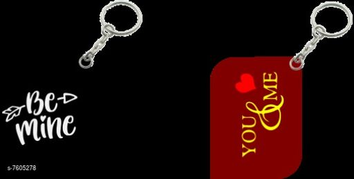 Keychains Modern Keychain Combo  *Pack* Pack of 2  *Sizes Available* Free Size *    Catalog Name: Fancy Keychains CatalogID_1231416 C65-SC1422 Code: 102-7605278-