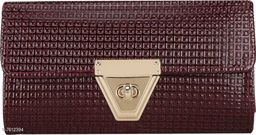 Parth Collection Attractive Maroon Casual Clutch