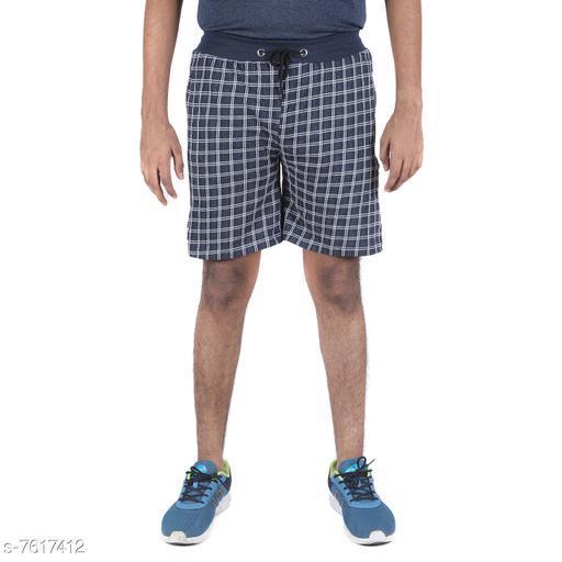 Indirang Men's Multi Color Cotton Short