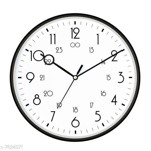 Designer Black Round Wall clock