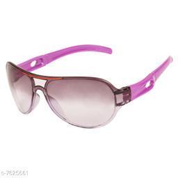 LOF Purple Aviator Full Rim UV Protected Sunglasses for Men - (V-P5005)
