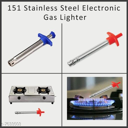 Gas Lighters 151 Stainless Steel Electronic Gas Lighter  *Size* Free Size  *Sizes Available* Free Size *    Catalog Name: Stylo Gas Lighters CatalogID_1238013 C135-SC1651 Code: 051-7633503-