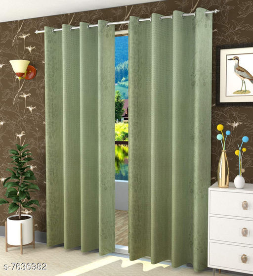Curtains & Sheers Trendy Curtains    *Material* Polyester  *Length* Window  *Multipack* 1  *Sizes* 5 Feet (Length Size  *Sizes Available* 5 Feet *    Catalog Name: Trendy Curtains   CatalogID_1238778 C54-SC1116 Code: 764-7636982-