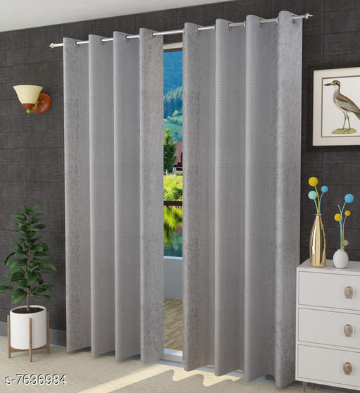Curtains & Sheers Trendy Curtains    *Material* Polyester  *Length* Window  *Multipack* 1  *Sizes* 5 Feet (Length Size  *Sizes Available* 5 Feet *    Catalog Name: Trendy Curtains   CatalogID_1238778 C54-SC1116 Code: 764-7636984-