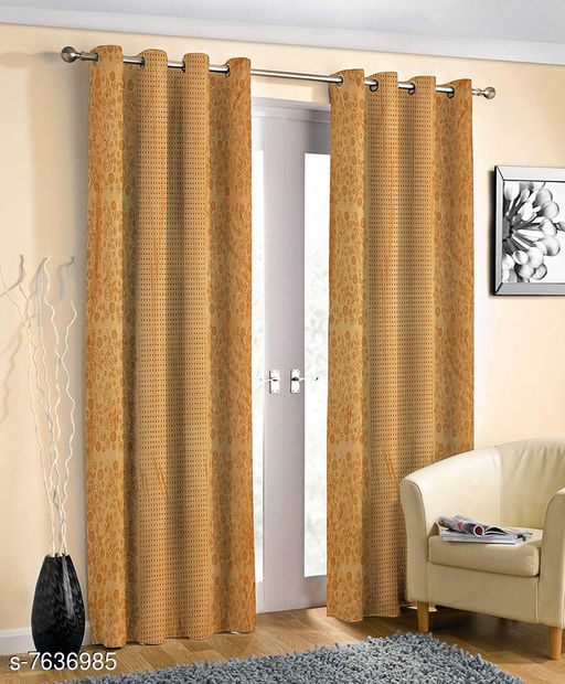 Curtains & Sheers Trendy Curtains   *Material* Polyester  *Length* Window  *Multipack* 1  *Sizes* 5 Feet (Length Size  *Sizes Available* 5 Feet *    Catalog Name: Trendy Curtains   CatalogID_1238778 C54-SC1116 Code: 764-7636985-