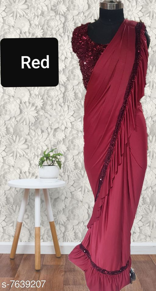 readymade stiched saree blouse