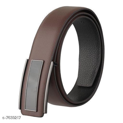 Trendy Men's Brown Belt