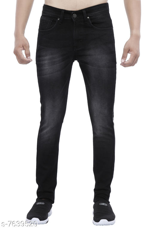 Jeans Dark Grey Men Jeans  *Fabric* Denim  *Sizes*   *30 (Waist Size* 30 in, Length Size  *Sizes Available* 30 *    Catalog Name: Elegant Unique Men Jeans CatalogID_1239354 C69-SC1211 Code: 2421-7639520-