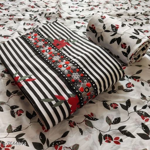 Trendy Cotton Suits And Dress Materials