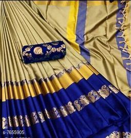Beautiful  Original Soft cotton silk saree