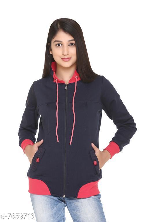 Hardihood Women Winterwear Sweatshirt