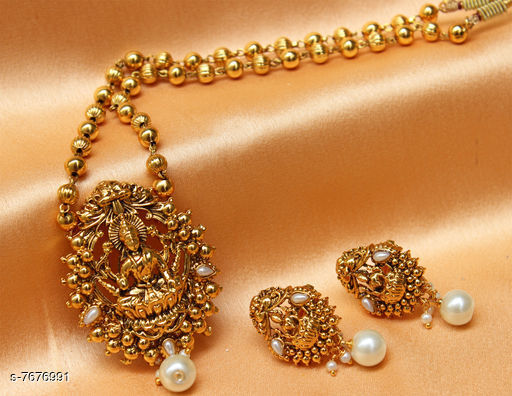 Pendants & Lockets Trendy Pendant  *Plating* Gold Plated  *Multipack* 1  *Sizes*   *Sizes Available* Free Size *    Catalog Name: Allure Bejeweled Pendants & Lockets CatalogID_1247485 C77-SC1095 Code: 964-7676991-