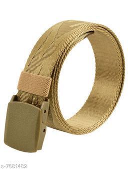 Winsome Deal Trendy Canvas Tan Army Belt for Men's