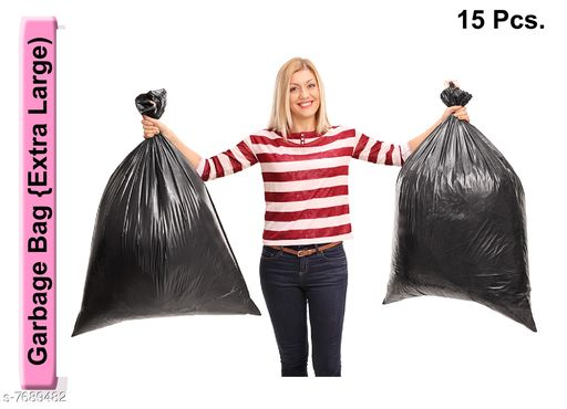 Napkins & Holders Garbage Bag (15pcs.) Large size Garbage Bag (15pcs.) Large size Country of Origin: India Sizes Available: Free Size *Proof of Safe Delivery! Click to know on Safety Standards of Delivery Partners- https://ltl.sh/y_nZrAV3  Catalog Rating: ★4.4 (37)  Catalog Name: Fabulous Kitchen Napkins CatalogID_1250177 C129-SC1426 Code: 461-7689482-